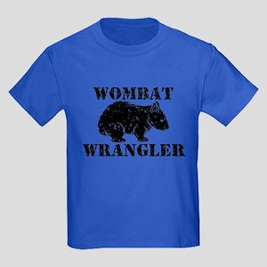 Wombat Wrangler Kids Dark T-Shirt