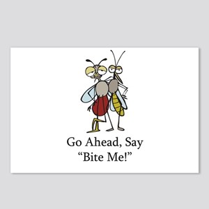 Mosquito Bite Me Postcards (Package of 8)