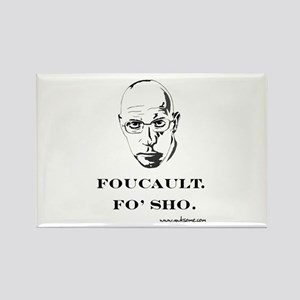 """Foucault, Fo' sho"" Rectangle Magnet"
