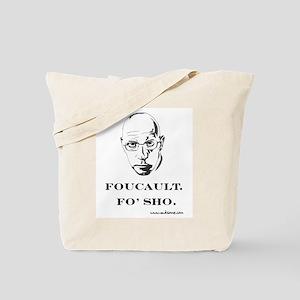 """Foucault, Fo' sho"" Tote Bag"