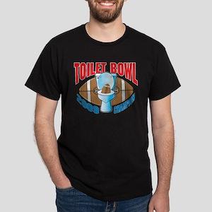 2009 Fantasy Football Toilet Dark T-Shirt