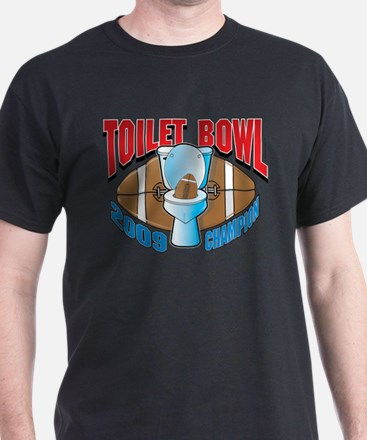 2009 Fantasy Football Toilet T-Shirt