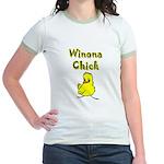 Winona Chick Jr. Ringer T-Shirt