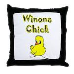 Winona Chick Throw Pillow