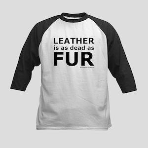 Leather = Dead Kids Baseball Jersey