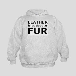 Leather = Dead Kids Hoodie