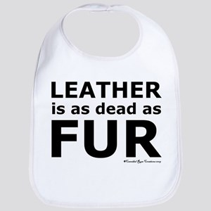 Leather = Dead Bib