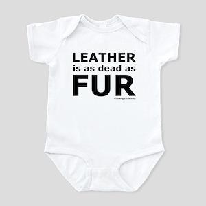 Leather = Dead Infant Bodysuit