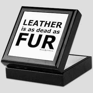 Leather = Dead Keepsake Box