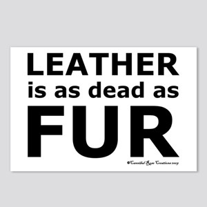 Leather = Dead Postcards (Package of 8)