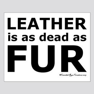 Leather = Dead Small Poster