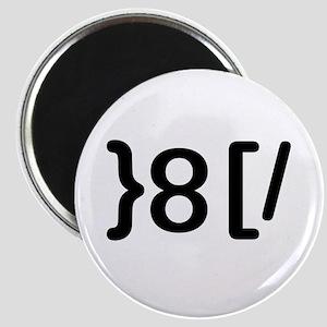 """GROUCHOticon 3.25"""" Round Magnet"""