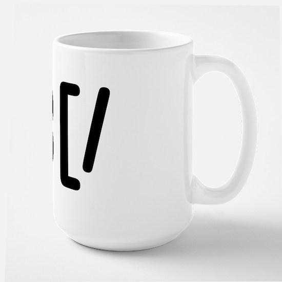 GROUCHOticon Large Mug