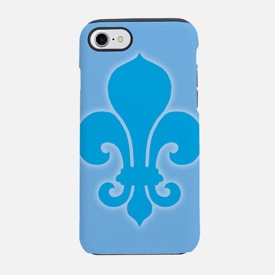 Fleur-De-Lis_bu_12x18.png 7 Iphone 8/7 Tough Case
