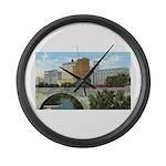 1920's Pillsbury Mills Large Wall Clock