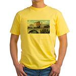 1920's Pillsbury Mills Yellow T-Shirt