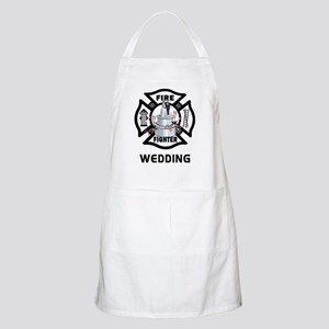Firefighter Wedding Cake Apron