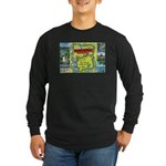 1940's City of Lakes and Parks Long Sleeve Dark T-