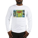 1940's City of Lakes and Parks Long Sleeve T-Shirt