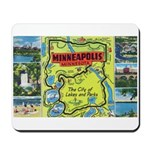 1940's City of Lakes and Parks Mousepad