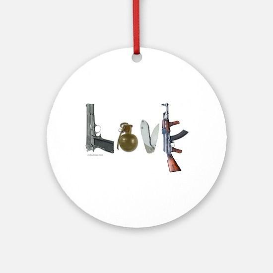 SECOND AMENDMENT Ornament (Round)