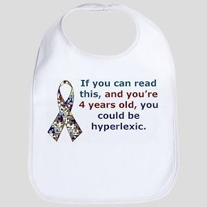 Hyperlexia Awareness Bib