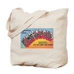 1950 Greetings from Minneapolis Tote Bag