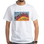 1950 Greetings from Minneapolis White T-Shirt