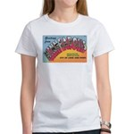 1950 Greetings from Minneapolis Women's T-Shirt