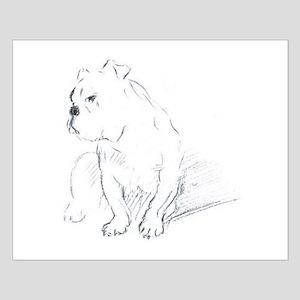 Bulldog Small Poster