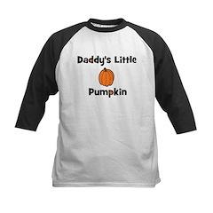 Daddy's Little Pumpkin Kids Baseball Jersey
