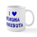 I Love Winona Winter Mug