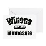 Winona Established 1857 Greeting Cards (Pk of 10)
