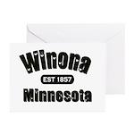 Winona Established 1857 Greeting Cards (Pk of 20)