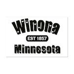 Winona Established 1857 Mini Poster Print