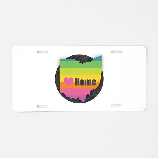 Home Ohio Aluminum License Plate