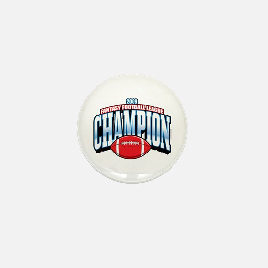 2009 Fantasy Football Champio Mini Button