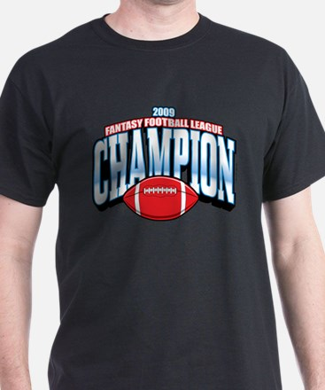 2009 Fantasy Football Champio T-Shirt