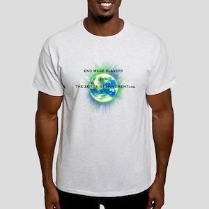 End Wage Slave Light T-Shirt