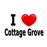I Love Cottage Grove Postcards (Package of 8)