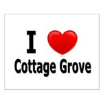I Love Cottage Grove Small Poster