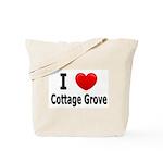 I Love Cottage Grove Tote Bag