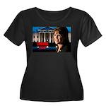 Sarah Palin 2012 Women's Plus Size Scoop Neck Dark