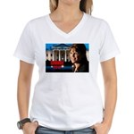 Sarah Palin 2012 Women's V-Neck T-Shirt