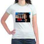 Sarah Palin 2012 Jr. Ringer T-Shirt