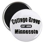 Cottage Grove Established 1858 Magnet