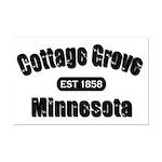 Cottage Grove Established 1858 Mini Poster Print