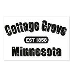 Cottage Grove Established 1858 Postcards (Package