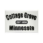 Cottage Grove Established 1858 Rectangle Magnet