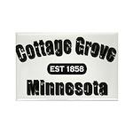 Cottage Grove Established 1858 Rectangle Magnet (1